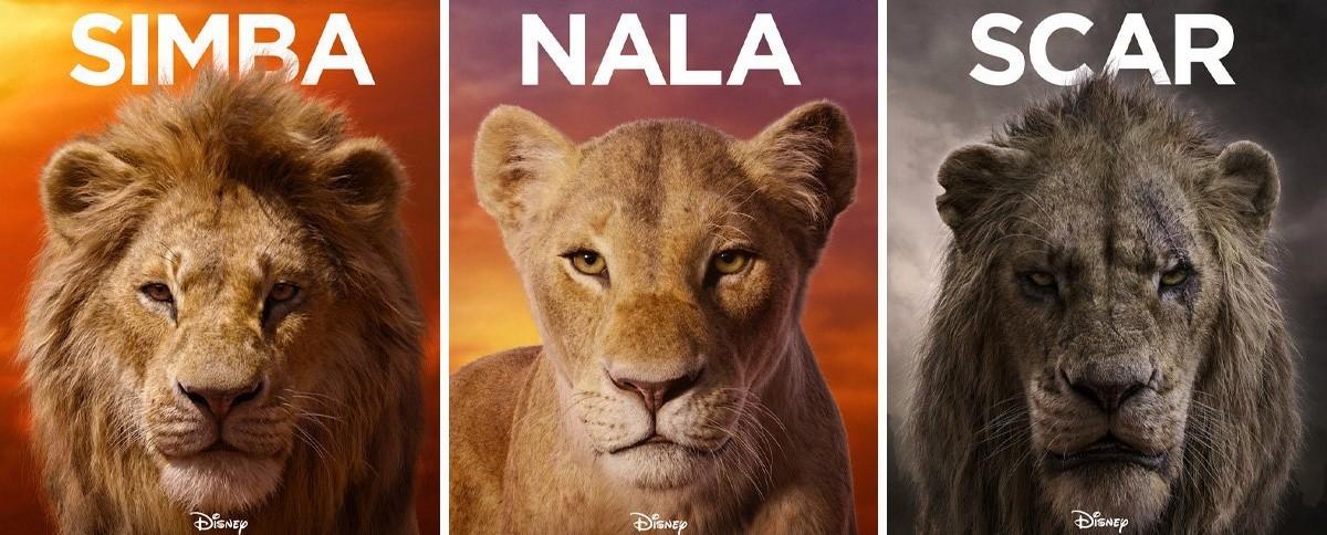 le-roi-lion-les-personnages-en-affiches-une